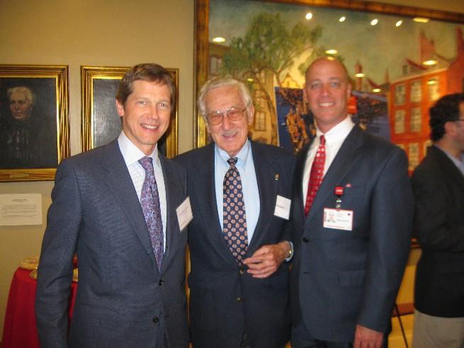 ASA President Lou Schwartz Attends Hosptal Dedication