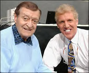 Chick Hearn and Bill Walton